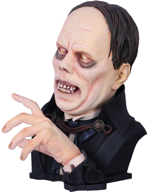 Black Heart Enterprises, LLC Lon Chaney Sr as The Phantom of the Opera Life-Size Bust