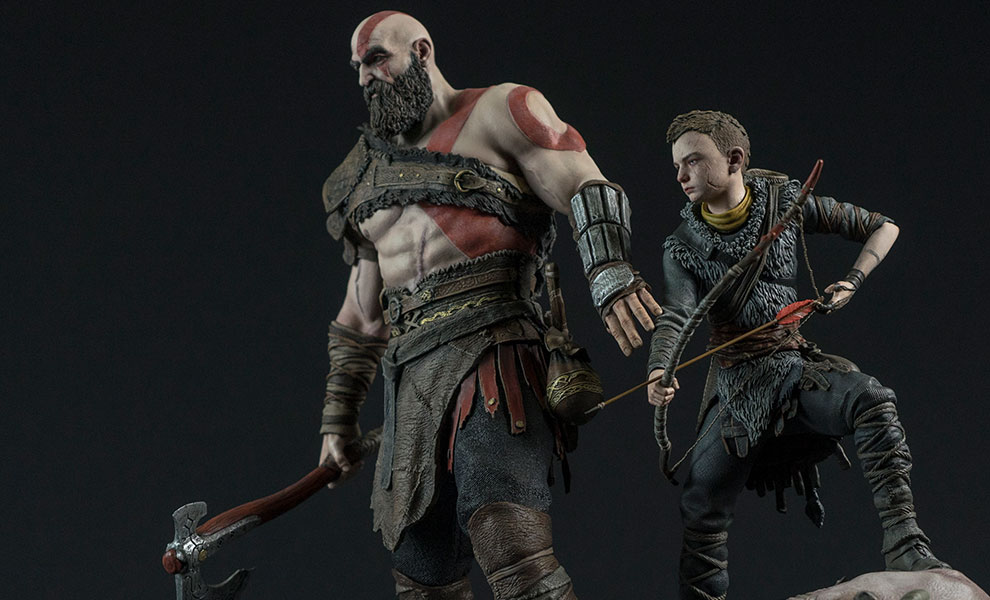 Gallery Feature Image of God of War PS4 Statue - Click to open image gallery