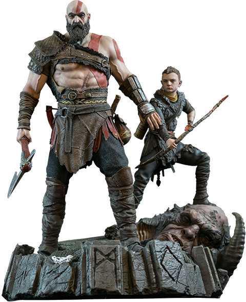 Sony Interactive Entertainment America God of War PS4 Statue