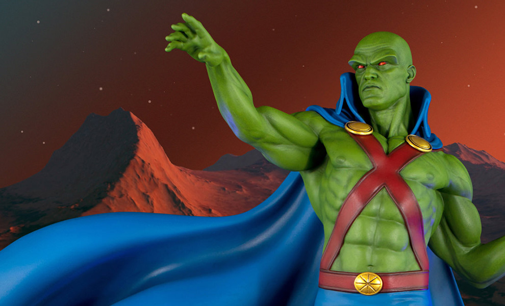 Gallery Feature Image of Super Powers Martian Manhunter Maquette - Click to open image gallery