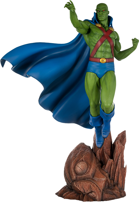 Tweeterhead Super Powers Martian Manhunter Maquette