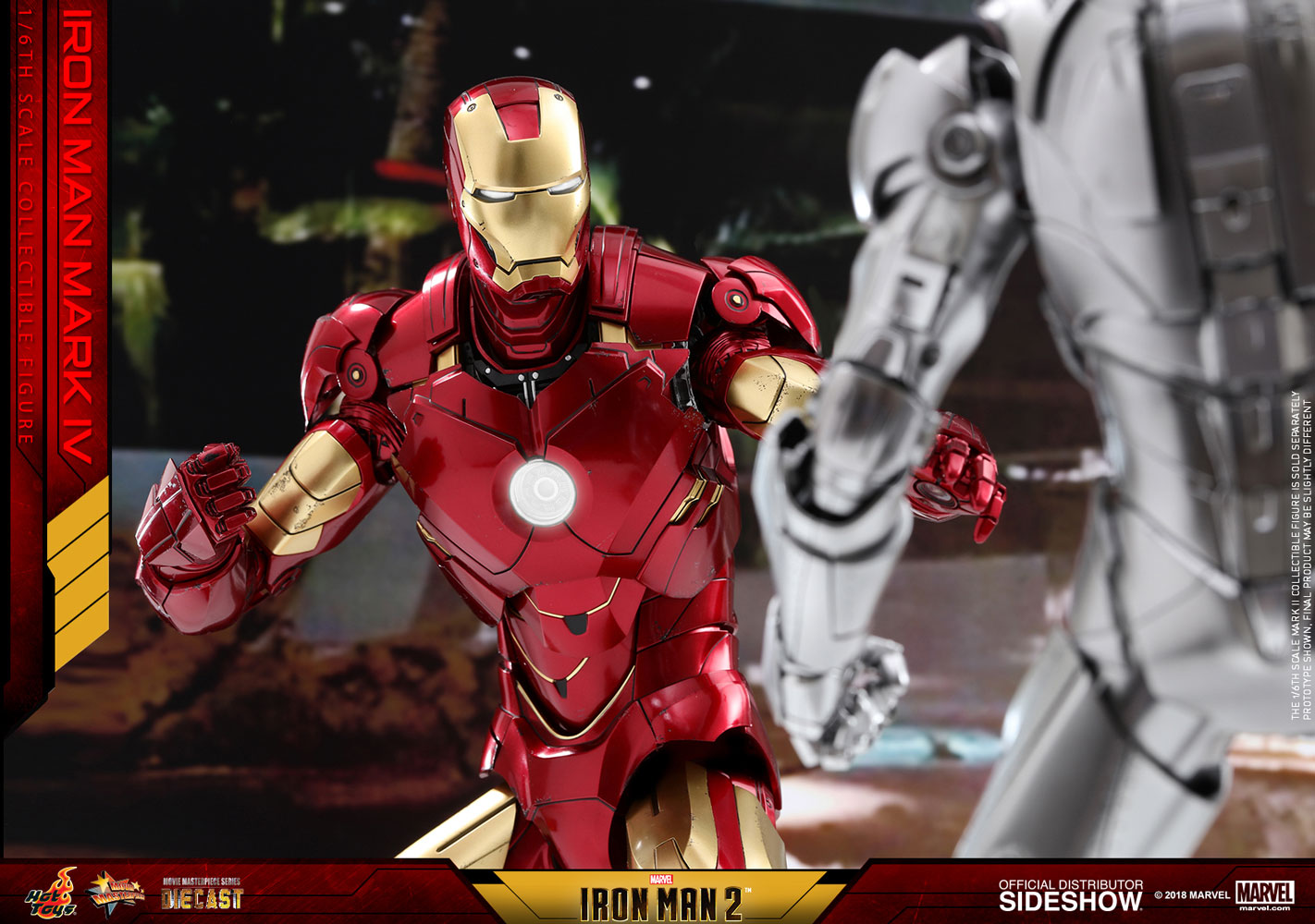 Marvel Iron Man Mark Iv Sixth Scale Figure By Hot Toys Sideshow