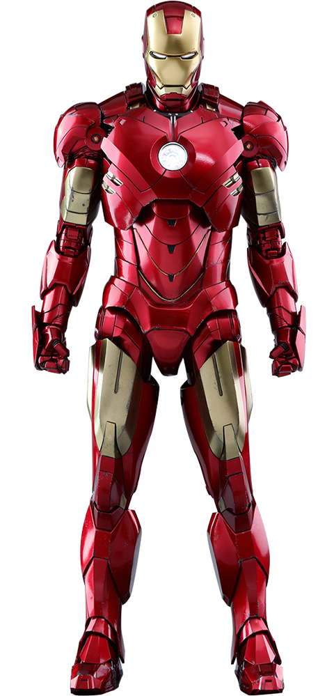 marvel iron man mark iv sixth scale figure by hot toys. Black Bedroom Furniture Sets. Home Design Ideas