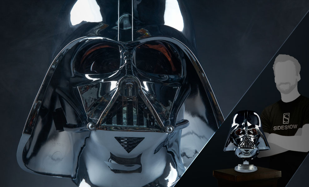 Gallery Feature Image of Darth Vader Helmet Scaled Replica - Click to open image gallery