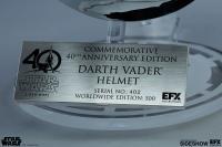 Gallery Image of Darth Vader Helmet Scaled Replica