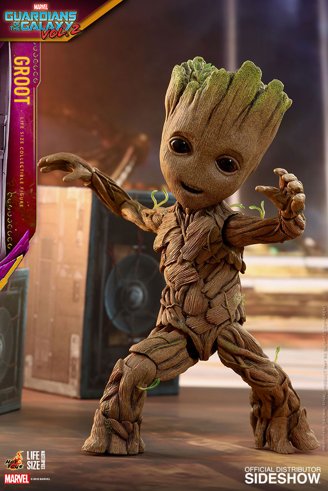Marvel Groot Life Size Figure By Hot Toys Sideshow Collectibles