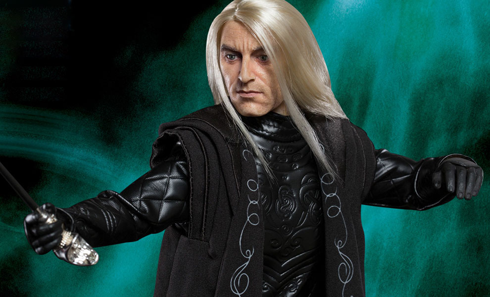 Gallery Feature Image of Lucius Malfoy Sixth Scale Figure - Click to open image gallery