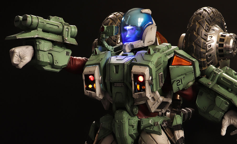 Gallery Feature Image of Armor Cyclone VR052F Scott Bernard Statue - Click to open image gallery
