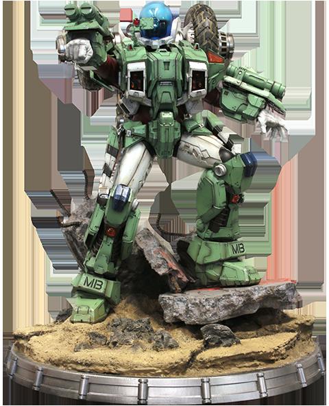 Kids Logic Company Limited Armor Cyclone VR052F Scott Bernard Statue