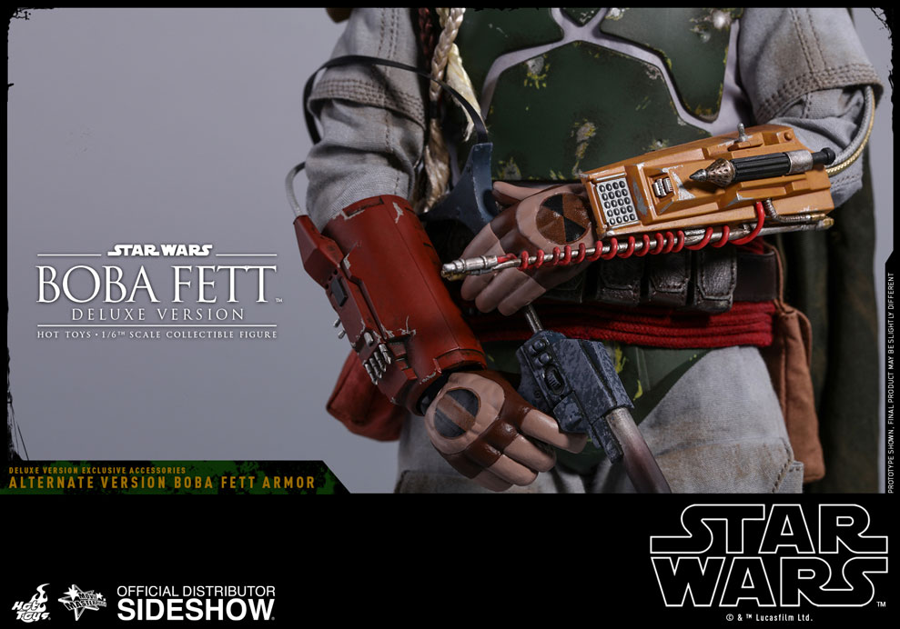 Star Wars Boba Fett Deluxe Version Sixth Scale Figure by Hot