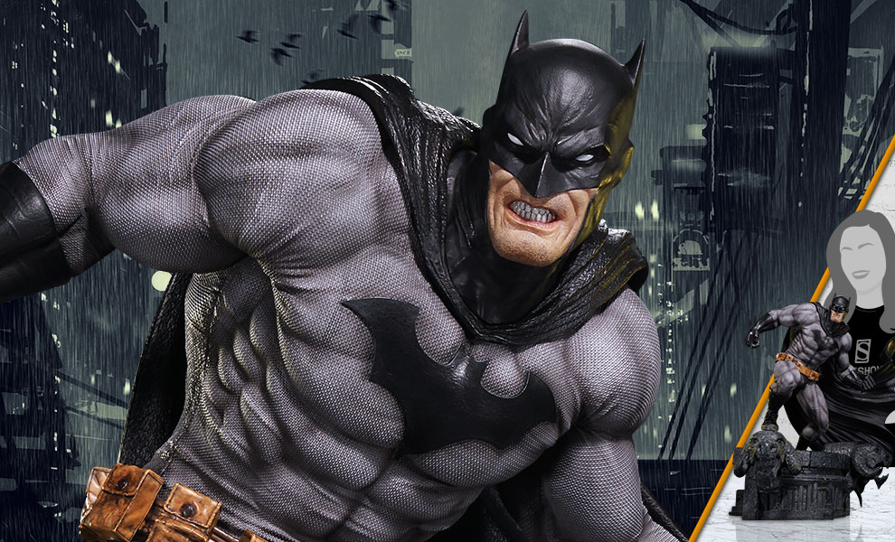 Gallery Feature Image of Batman (Black Version) Statue - Click to open image gallery