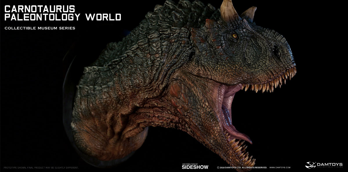 Carnotaurus Bust By Damtoys Sideshow Collectibles