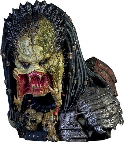 CoolProps Wolf Predator Life-Size Bust