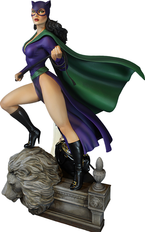 Tweeterhead Super Powers Catwoman Maquette