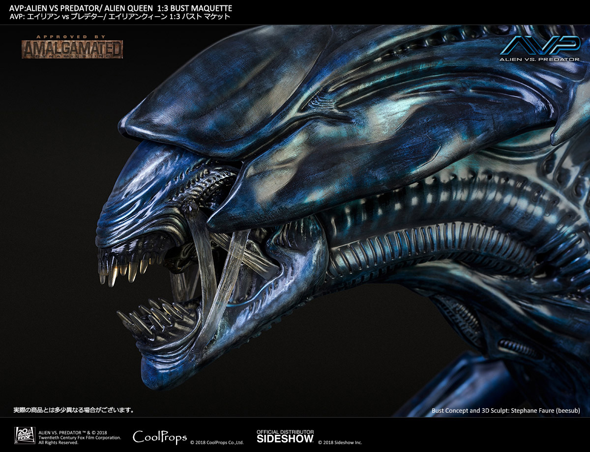 Alien VS Predator Alien Queen Deluxe Bust by CoolProps