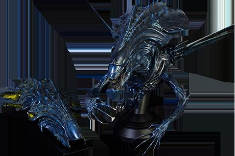 Alien Vs Predator Alien Queen Deluxe Bust By Coolprops - aliens xenomorph queen deluxe figure