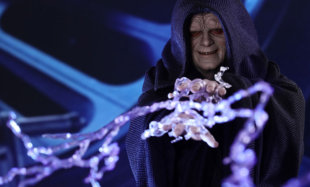 Gallery Feature Image of Emperor Palpatine Sixth Scale Figure - Click to open image gallery