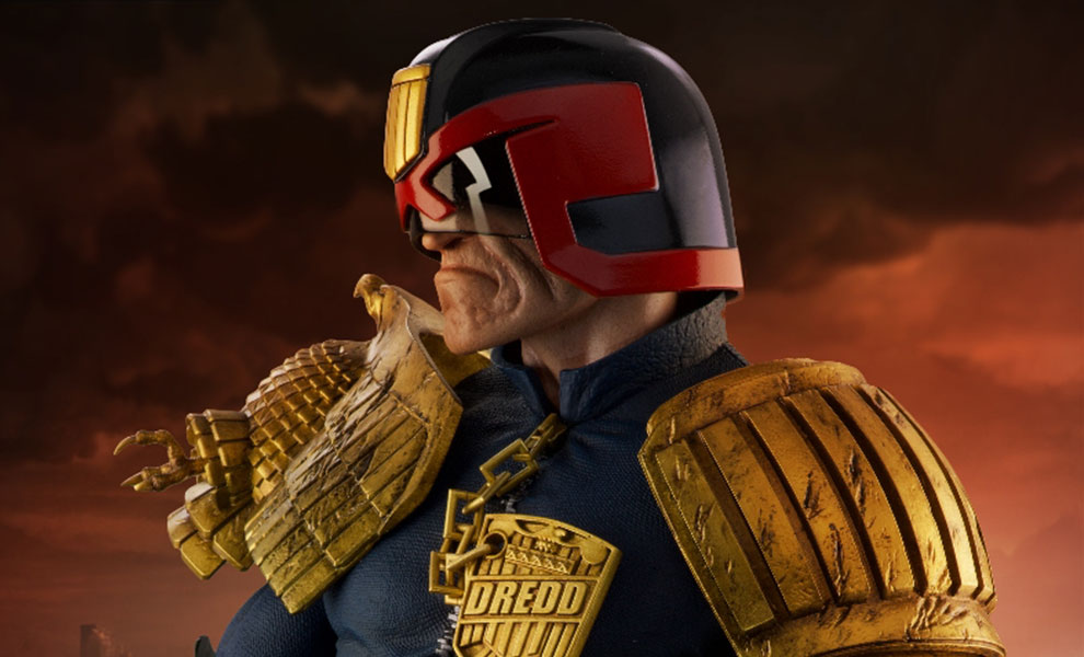Gallery Feature Image of Judge Dredd Statue - Click to open image gallery