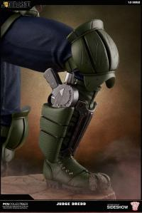 Gallery Image of Judge Dredd Statue