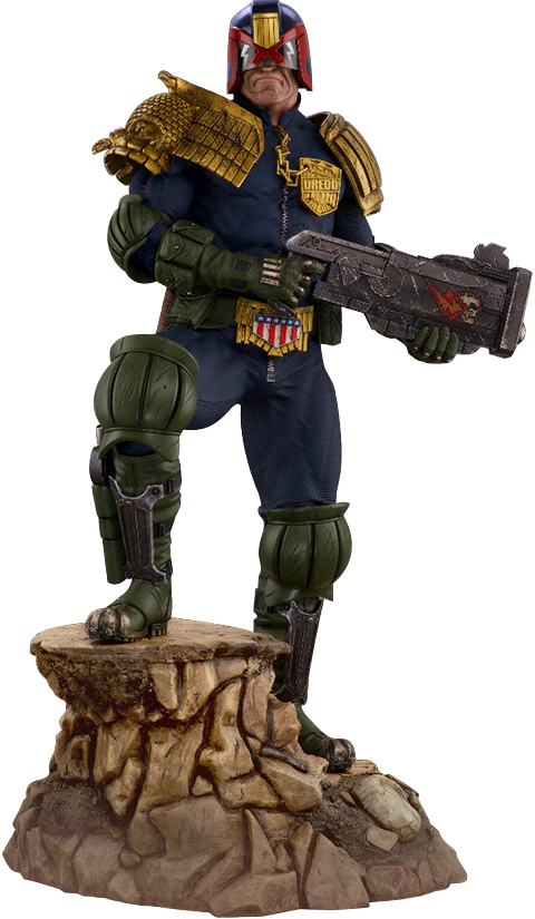 PCS Judge Dredd Statue