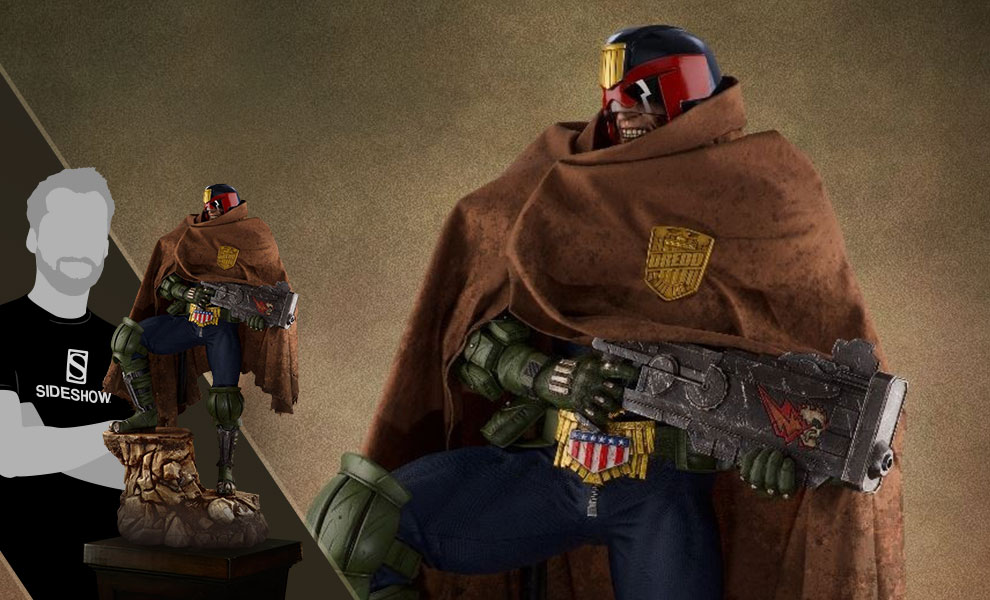 Gallery Feature Image of Judge Dredd Cursed Earth Statue - Click to open image gallery