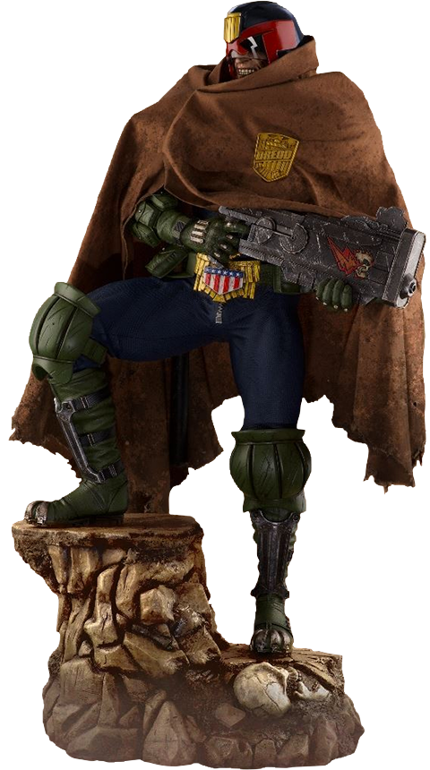PCS Judge Dredd Cursed Earth Statue