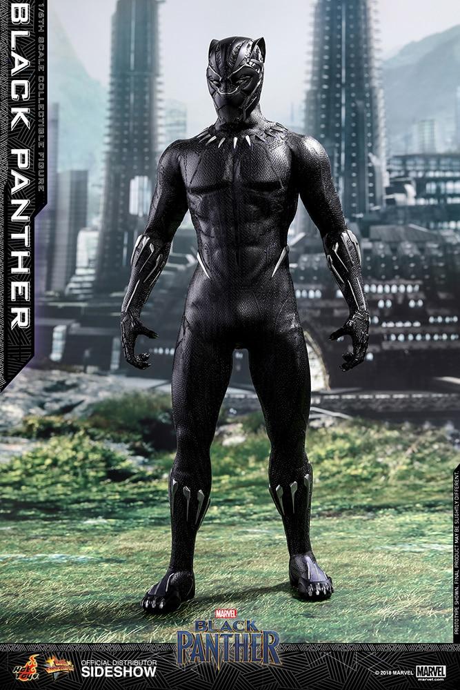 Hot Toys Marvel Black Panther Figure