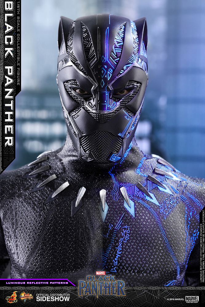 77556e4dddd Hot Toys Marvel Black Panther Figure | Sideshow Collectibles