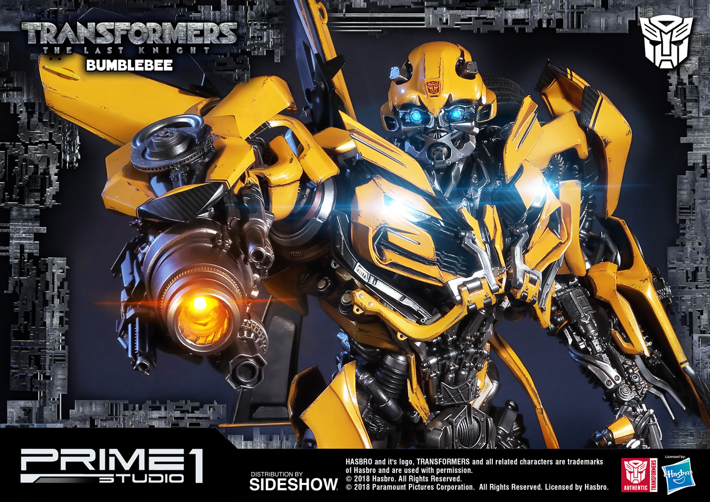 Transformers bumblebee statue by prime 1 studio sideshow collectibles - Images of bumblebee from transformers ...