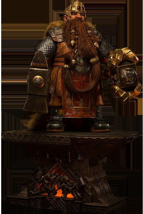Damtoys Magni Bronzebeard Statue