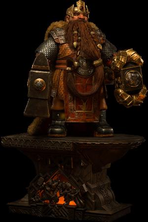 Magni Bronzebeard Statue