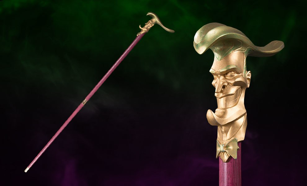 Gallery Feature Image of The Joker Cane Prop Replica - Click to open image gallery
