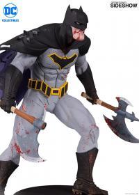 Gallery Image of Metal Batman Statue