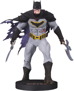 Metal Batman Statue