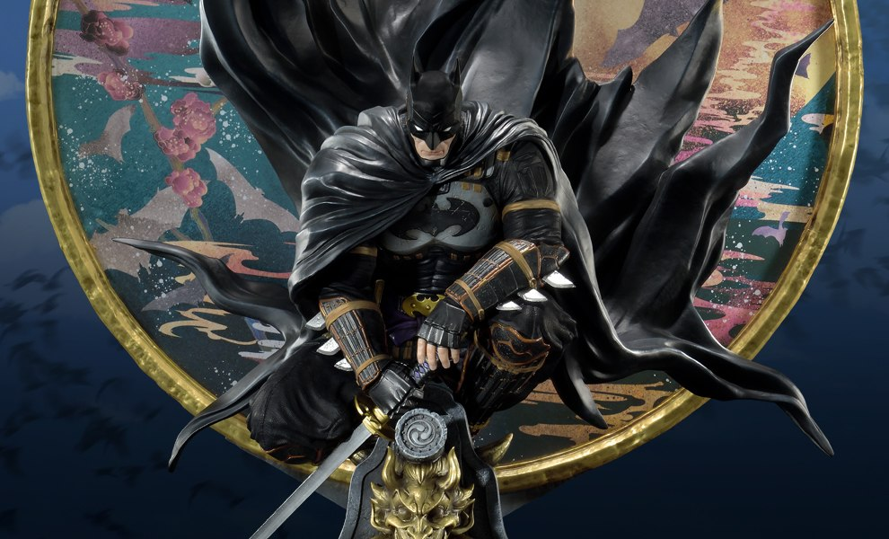 Gallery Feature Image of Ninja Batman Deluxe Version Statue - Click to open image gallery