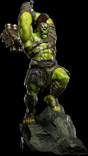 Hulk 1:10 Scale Statue
