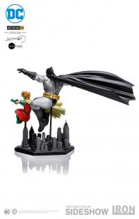 Gallery Image of Batman and Robin Deluxe 1:10 Scale Statue