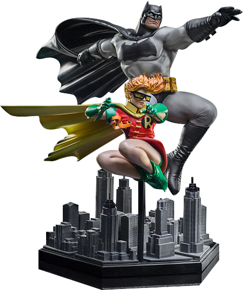 Iron Studios Batman and Robin Deluxe 1:10 Scale Statue