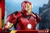 Gallery Image of Iron Man Mark III Deluxe Version Quarter Scale Figure