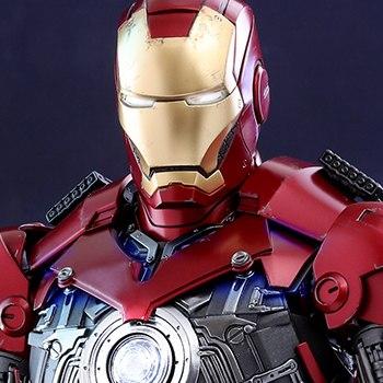 Iron Man Mark III Deluxe Version Quarter Scale Figure