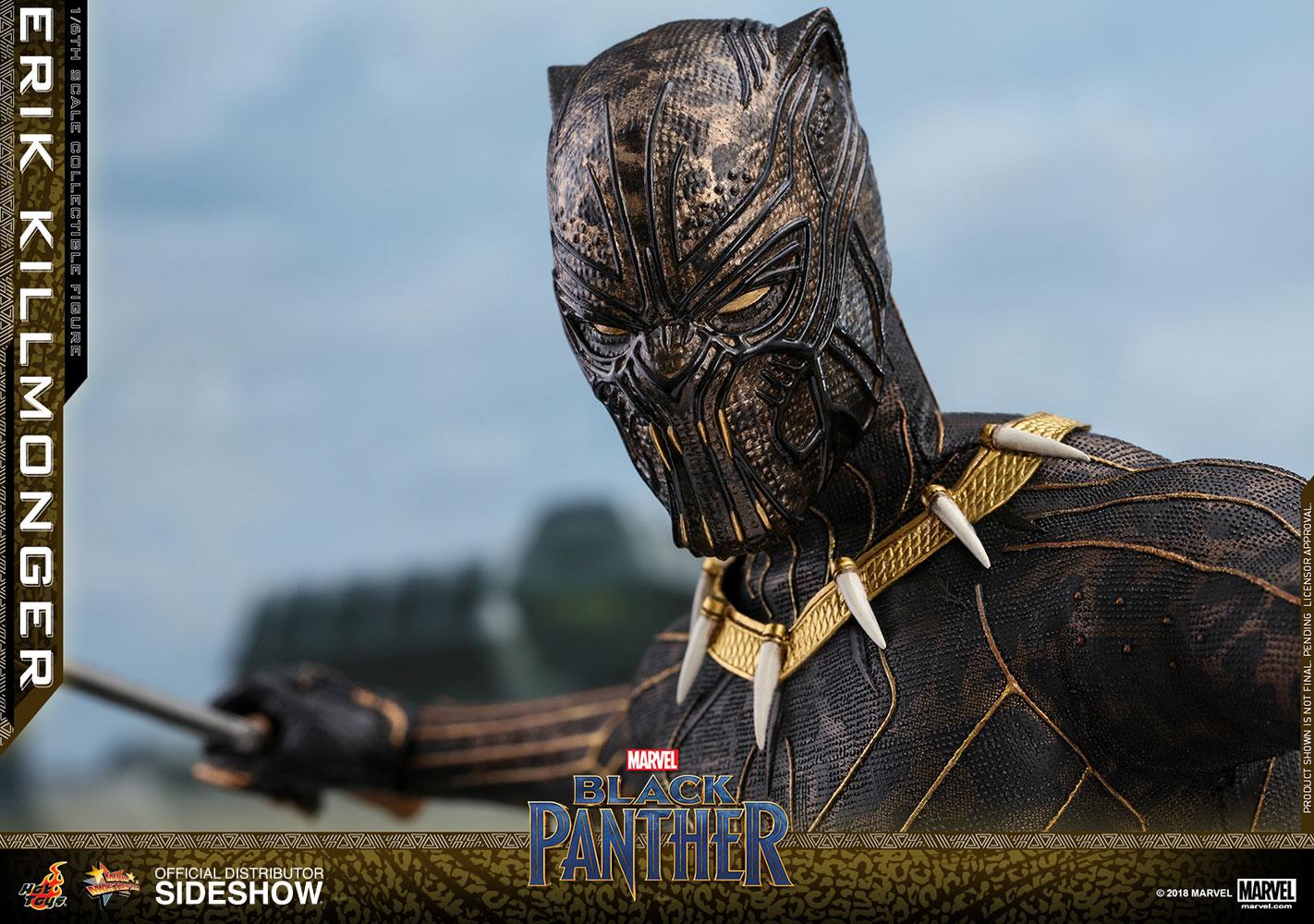Marvel Erik Killmonger Sixth Scale Figure By Hot Toys Sideshow