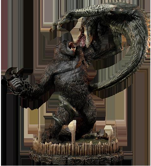 Prime 1 Studio Kong vs Skull Crawler Statue