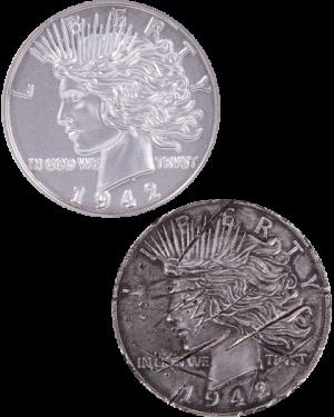 Two Face Coin Prop Replica