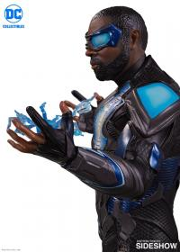 Gallery Image of Black Lightning Statue