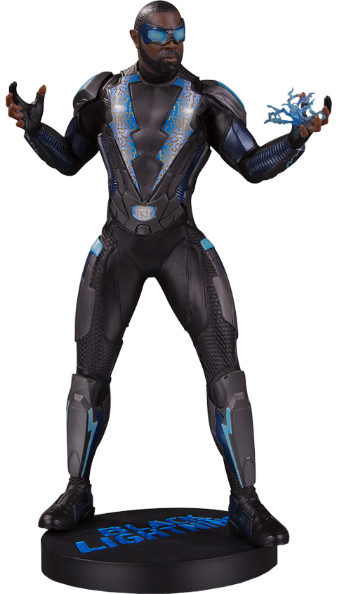 DC Direct Black Lightning Statue