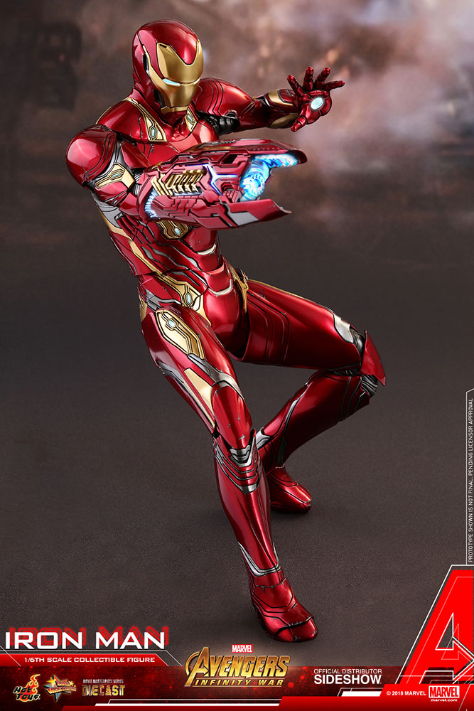 Marvel Iron Man Sixth Scale Figure By Hot Toys Sideshow