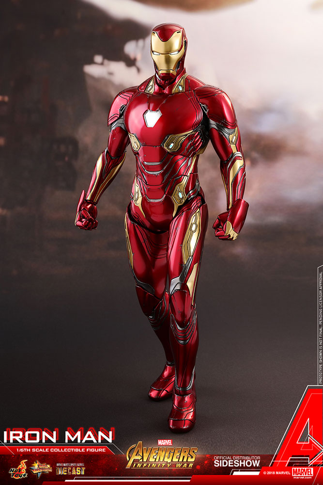 a08865bb47 Marvel Iron Man Sixth Scale Figure by Hot Toys