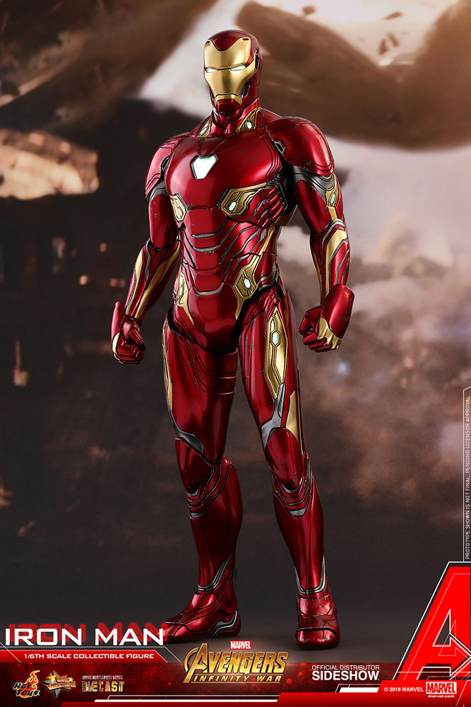 Iron Man - Prototype Shown