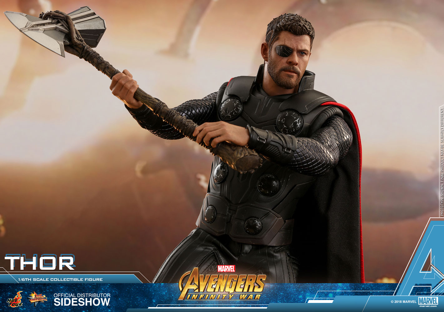 Hot Toys Marvel Thor Figure Sideshow Collectibles