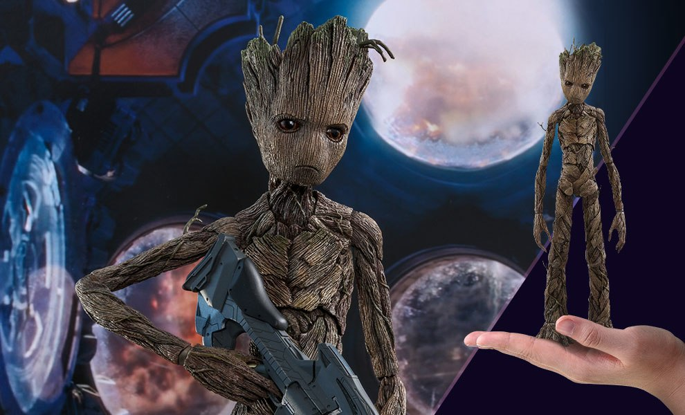 Gallery Feature Image of Groot Sixth Scale Figure - Click to open image gallery